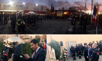 Célébration de la Sainte-Barbe dans les casernes de Cannes et la Bocca