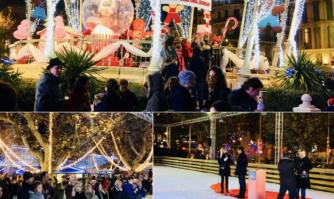 David Lisnard a inauguré le marché de Noël en présence de nombreux Cannois