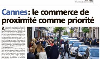 Cannes : le commerce de proximité comme priorité