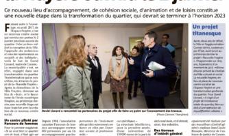 Le nouveau centre social de la Frayère ouvrira le janvier