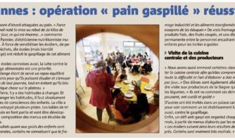 Cannes : opération « pain gaspillé » réussie