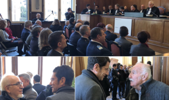 Audiences solennelles de rentrée du conseil des Prud'hommes et du tribunal de commerce