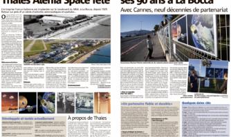 Le site de Thales à Cannes La Bocca fête ses 90 ans