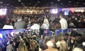 De très nombreux Cannois étaient présents pour les Vœux du Maire de Cannes