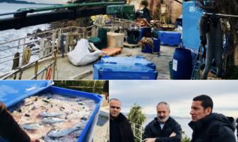 Visite de terrain au coeur de la ferme aquacole biologique de Cannes