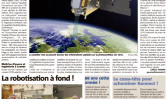 Un satellite produit à Cannes veillera depuis l'espace sur la santé des plantes ! Et donnera des informations capitales sur la photosynthèse sur Terre