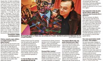 Bertrand Burgalat : « J'aime le mélange des genres »