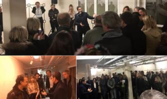 Vernissage d'une exposition et présentation du Suquet des Art(iste)s à Bertrand Burgalat et les artistes du label Tricatel