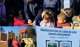 Inauguration du nouveau Square Sainte Marguerite