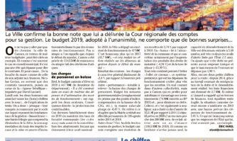 Budget : l'exemple Cannois