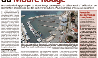 Ça drague fort au port du Mouré Rouge