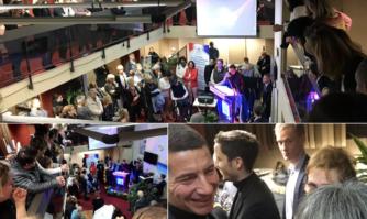 Moment convivial avec les salariés et bénévoles du GIP Cannes Bel Âge