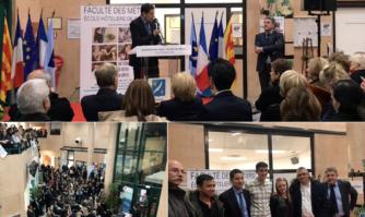Cérémonie de la remise des diplômes aux apprentis du CFA municipal: Faculté des Métiers – Ecole hôtelière de Cannes