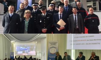Le Palais des Festivals et des Congrèsdevient le premier site labellisé Sécuri-Site des Alpes-Maritimes mettant à l'honneur « la chaîne de sécurité » voulue par David Lisnard, la Mairie de Cannes, la SEMEC et les autorités de l'État.