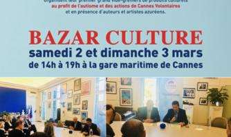 Présentation de l'opération Bazar culture, une bonne actionmêlant culture et action sociale