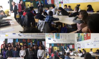 Les élèves de l'école Maurice Alice II s'emparent de la démocratie