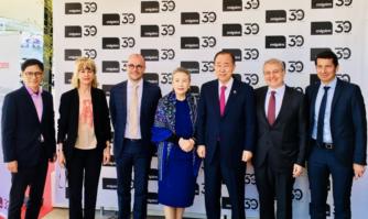 Ban Ki-moon était à Cannes pour donner le coup d'envoi du MIPIM 2019