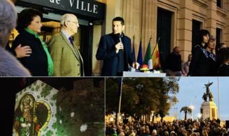 Cannes aux couleurs de l'Irlande pour célébrer la Saint Patrick