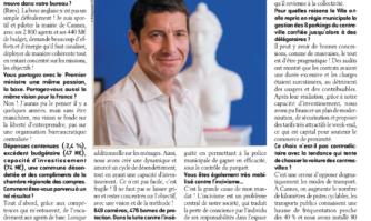 Interview de David Lisnard dans Objectif Méditerranée