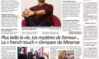 """CANNESERIES : Eric Judor, Plus belle la vie, Les Mystères de l'amour... la """"French touch"""" s'est emparée de Miramar"""