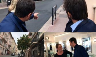 Sécurisation et réduction des nuisances rue Clemenceau