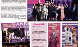 Une perfect night pour CANNESERIES
