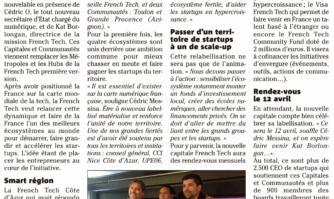 La Côte d'Azur labellisée Capitale French Tech