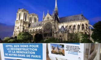 Mobilisation générale pour Notre-Dame de Paris