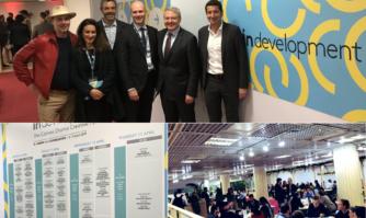 Avec les forces vives de l'économie créative sur le stand d'InDevelopment, le Forum de Cannes dédié à la créativité à l'occasion du MIP TV et de CANNESERIES