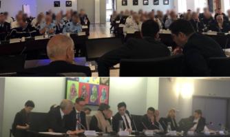Réunion de sécurité pour préparer l'organisation du Festival de Cannes
