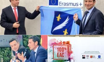 Réaction de David Lisnard à la nomination d'Emmanuel Ethis, prochain Recteur de la région académique de Bretagne