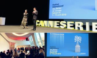 Cérémonie d'ouverture de CANNESERIES au Palais des Festivals et des Congrès