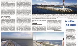 La première phase du chantier terminée, la nouvelle digue du Vieux-Port de Cannes prend forme