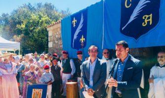 « Bravi Gens ! Genoui en terre ! » : traditionnel Serment d'allégeance aux Moines de Lérins depuis 1448