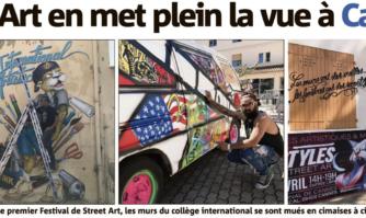 Le Street Art en met plein la vue à Cannes