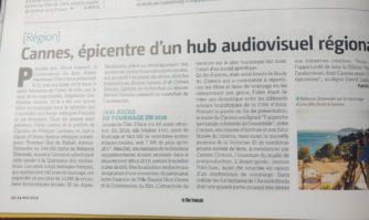 Cannes, épicentre d'un hub audiovisuel régional