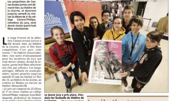 Les jeunes jouent les jurés pour Cannes écrans juniors