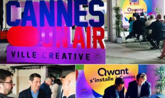 Implantation de Qwant à Cannes : une nouvelle victoire pour l'économie, l'emploi et le dynamisme de la filière créative voulue par David Lisnard pour faire de Cannes l'épicentre de la Silicon Valley française de la filière audiovisuelle