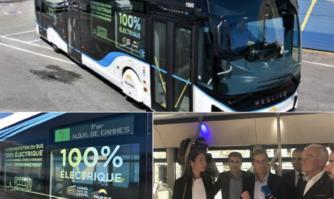 Demain se vit aujourd'hui à Cannes : un bus électrique de grande capacité va être déployé