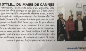 Le style... du Maire de Cannes