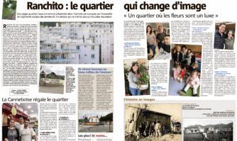 Ranchito : le quartier La Canneboise régale le quartier qui change d'image