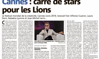 Cannes : carré de stars pour les Lions