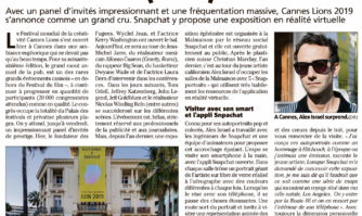 Cannes : le festival de la créativité a (bien) commencé