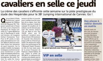 Les meilleurs cavaliers mondiaux vont s'affronter dès jeudi au 38e Jumping international de Cannes
