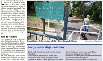 Le parc Beauvallon sécurisé et embelli