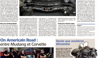 Les plus grandes légendes de la route sur la Croisette On Americain Road : entre Mustang et Corvette
