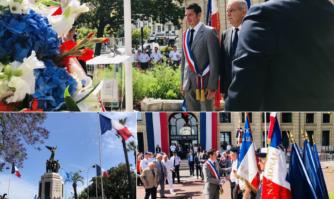 Cérémonie du souvenir et d'hommage aux Morts pour la France en Indochine