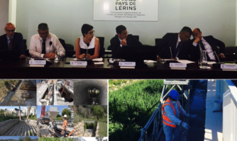 David Lisnard et l'Agglomération Cannes Lérins en action contre le risque inondation