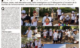 Journée de l'environnement : école buissonnière pour 400 petits Cannois