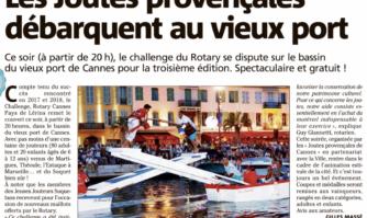 Les Joutes provençales débarquent au vieux port